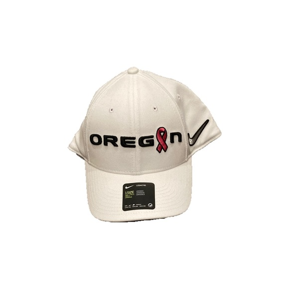 Oregon Ducks Nike Cancer Awareness Flex Fit Hat